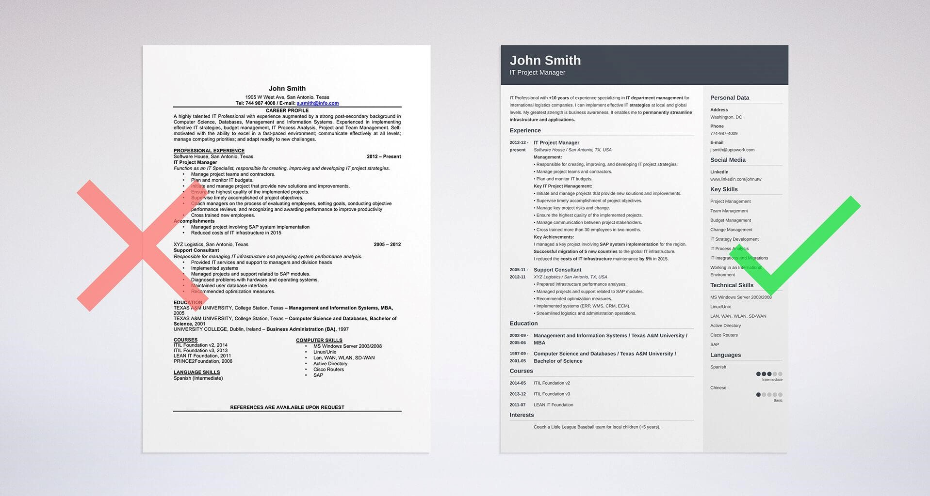 What Defines A Perfect Resume Outline Skillroads Com Ai Resume