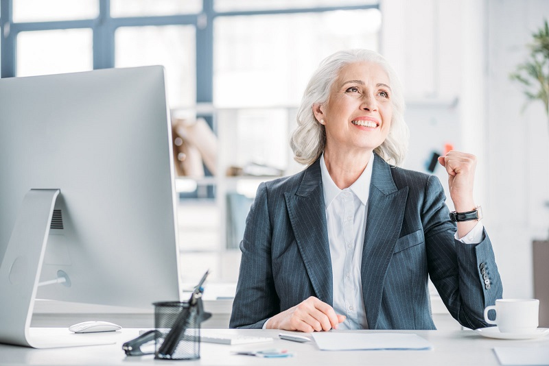 resume format for older worker