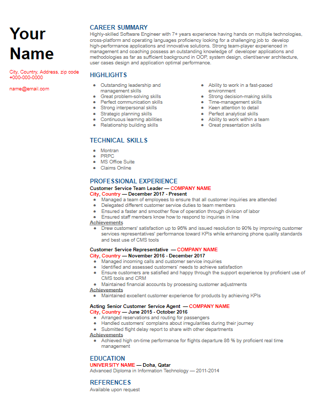 combination_resume_example