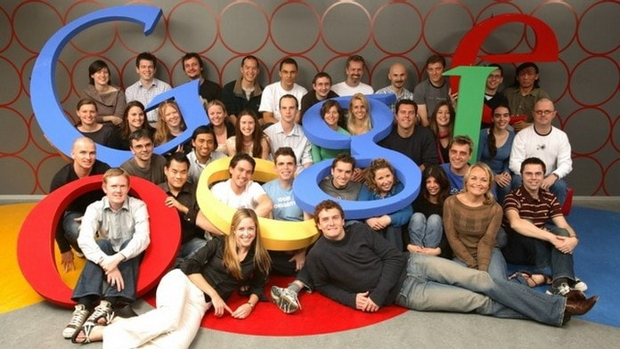 Google team photo