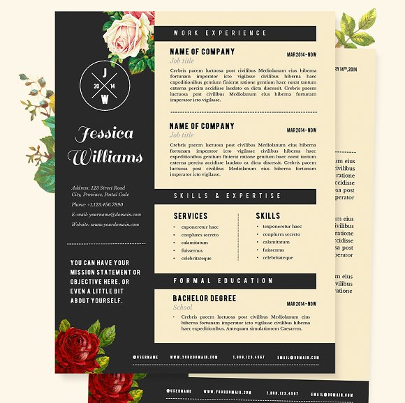 20 Creative Resume Examples For Your Inspiration