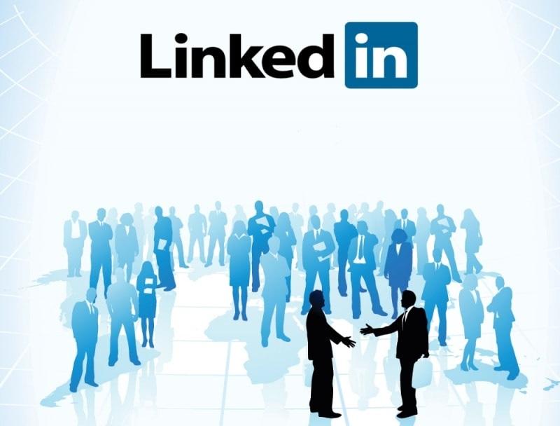 LinkedIn networking photo