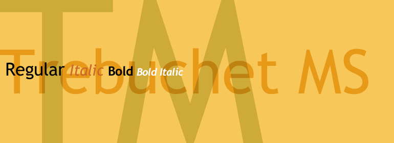 Trebuchet MS_font_for_resume _photo